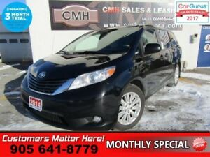 2014 Toyota Sienna XLE 7 Passenger  AWD, LEATHER, SUNROOF, BLIND