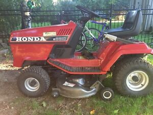 Honda riding mower