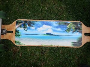 39 inch LOADED Longboard, lightly used