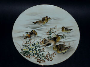 Japanese Round Dish: Ducks patterns : Like NEW : Ginger Jars Cambridge Kitchener Area image 1