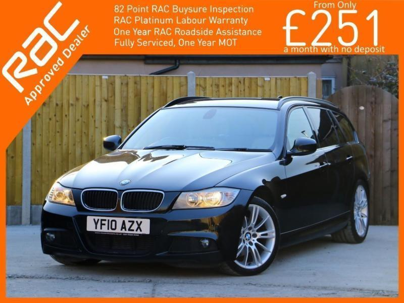 2010 BMW 3 Series 320d Turbo Diesel 184 PS M Sport Business Edition 6 Speed Tour