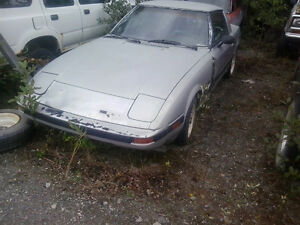 1981 Mazda RX-7 Coupe (2 door)