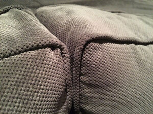New 3 Piece Studded High Back Custom Grey Couch Set London Ontario image 3