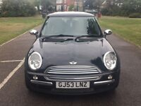 MINI COOPER S MINI ONE 1.6L 3 Door 1 Year MOT