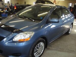 2010 TOYOTA YARIS 4DR BLUE IN COLOR $3995 PLUS THE HST