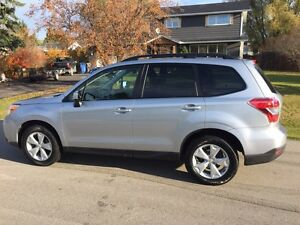 2015 Subaru Forrester. 54000kms. Convenience package extra