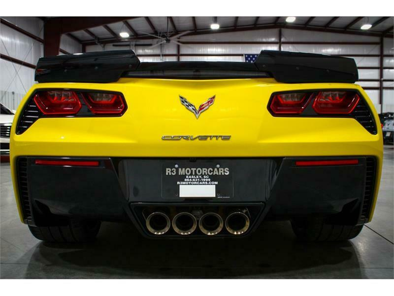 2019 Yellow Chevrolet Corvette Convertible 3LT | C7 Corvette Photo 4