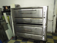 Blodgett Double Pizza Oven - Natural Gas
