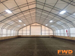 40-70' Wide Portable Fabric Buildings On SALE Now! Fast Delivery