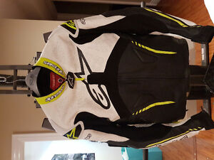 Alpinestar racing leather jacket