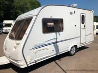 2006/07 STERLING ECCLES TOPAZ 2 BERTH TOURING CARAVAN IMMACULATE CONDITION