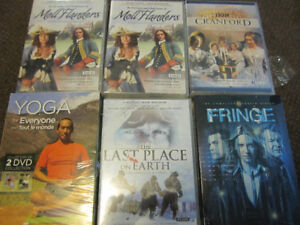Movie Sets or Series - New, Sold on Choice - $5.00 ea