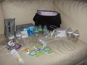 Philips Avent double breast pump / Tire-lait