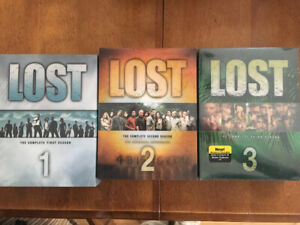 DVD LOST saison 1-2-3
