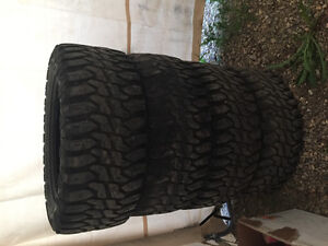 Set of 2 33X12.5X20LT Haida Mudtires