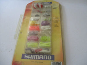 ShimanoTackle Starter Pack--over 100 pieces--NEW