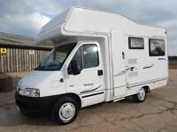 Compass AVANTGARDE 200, 2006, 4 Berth Compact, Peugeot 2.0D, Just 9k Miles!
