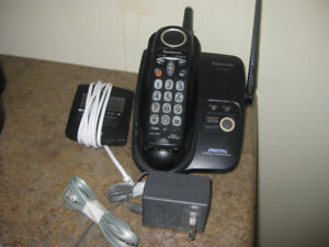 Cordless phone with caller ID add-on