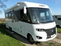 Frankia i790 Plus Luxury 4 berth rear lounge A class motorhome for saleRef145360
