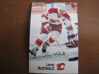 Lanny McDonald Esso Hockey Card