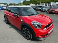 2014 14 MINI PACEMAN 2.0 COOPER SD JCW PACK Diesel in Chilli Red / White Roof