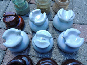 insulators, porcelain insulators, glass insulators London Ontario image 5