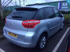 Drive Away Today Citroen C4 Picasso Exclusive 2.0 HDI Diesel 6 Speed Semi Automatic