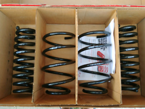 Lowering springs for bmw 3 series eibackh pro-kit