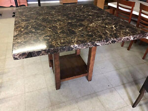 Marble Square Table