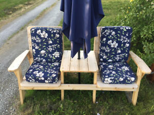 Cedar and Spruce Benches