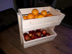 Fruit and veggie bins