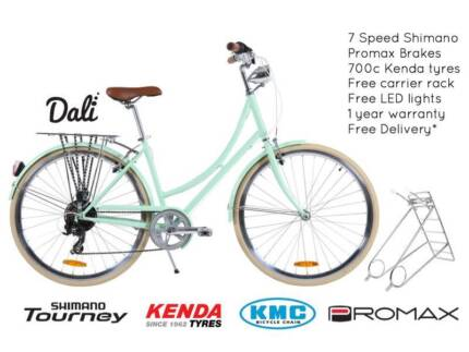 NIXEYCLES Vintage Dali 7sp Bicycle   Free Delivery*
