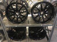 "19"" alloy wheels 112 Alloys pcd 5x112 Mercedes audi seat skoda Vw Volkswagen"