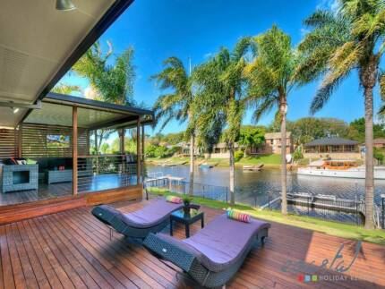 Gold Coast Holiday Home - Waterfront with Pool!