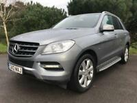 2012 12 MERCEDES-BENZ M CLASS 2.1 ML250 BLUETEC SPECIAL EDITION 5D AUTO 204 BHP