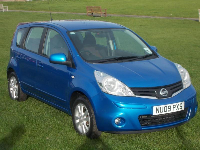 2009 (09) Nissan Note 1.6 16v Acenta Automatic