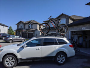 The Yakima High Roller Roof Mount Bike Rack