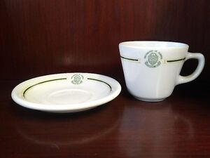 VINTAGE cup & saucer from the UNIVERSITY OF ALBERTA