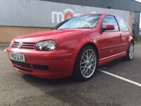Volkswagen Golf 25th anniversary red