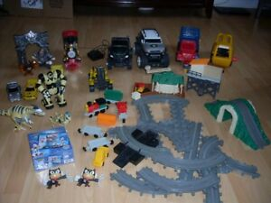 Lot camion, train Geo trax et robot