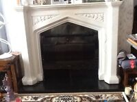 Marble / Granite Effect Fire Surround