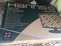 2 22 inch monitors