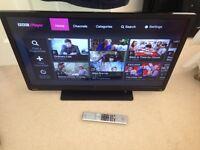 "Toshiba 32"" smart LED tv wi-fi warranty YouTube free delivery"