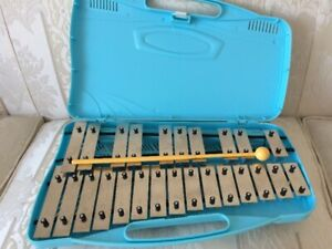 Vintage 25 Note Angel Glockenspiel AX-25N2 with Case and Mallet