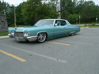 1970 CADILLAC DEVILLE 2DR  HT. ( BAGGED  )