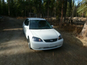 2001 Honda Civic LX - Fully Loaded, Clean and Reliable Vehicle