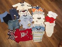 Baby boy clothes x31 items