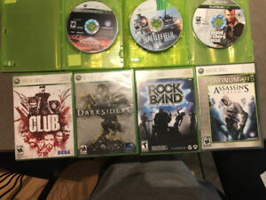 XBOX 360 Games, lot of 7 games