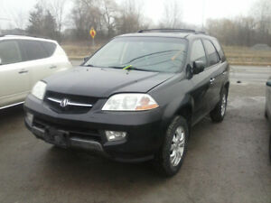 2003 MDX,PARTS ONLY!!!!!!