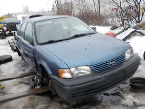 1998 Toyota Tercel available at Kenny u pull Ottawa